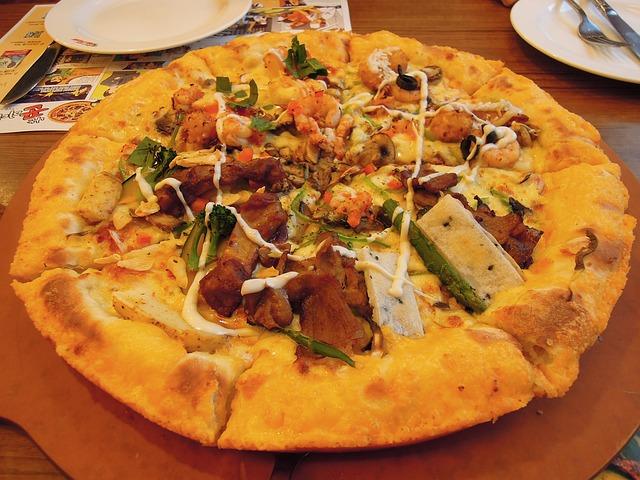 pizza sans sauce