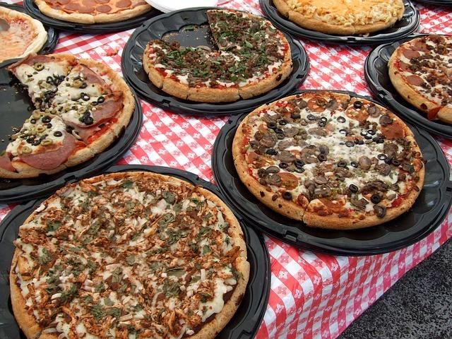 Mini-pizzas aux olives