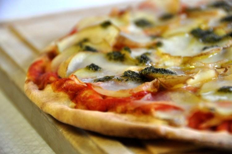 Recette pizzettas à la tomate